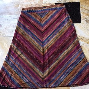 New Directions Woman boho gypsy festival lined 37""